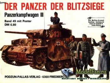 Waffen Arsenal - Band 49 - Der Panzer der Blitzsiege: Panzerkampfwagen III