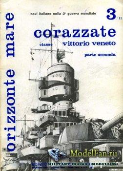 Edizioni Bizzarri - Orizzonte Mare 3/II - Corazzate Classe Vittorio Veneto  ...