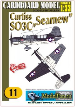 "EMA 2000 - Karton Militaria 11 - Curtiss SO3C ""Seamew"""