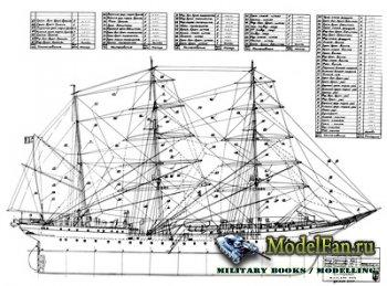 Чертежи парусных кораблей (Martigana, Tovaric 1918, Trehierarhs 1766, Vosto ...