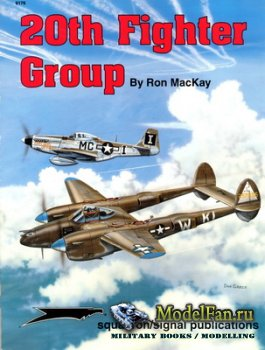 Squadron Signal 6176 - 20th Fighter Group