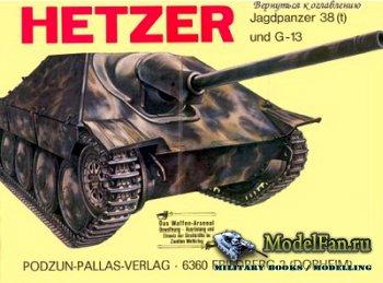 Waffen Arsenal - Band 53 - Hetzer Jagdpanzer 38 (t) und G-13