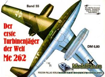 Waffen Arsenal - Band 55 - Der erste Turbinenjager der Welt Me 262