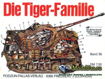 Waffen Arsenal - Band 56 - Die Tiger-Familie