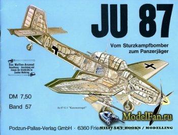 Waffen Arsenal - Band 57 - JU 87 - Vom Sturzkampfbomber zum Panzerjaeger