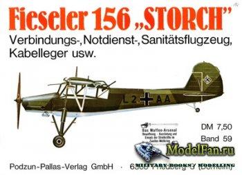Waffen Arsenal - Band 59 - Fieseler 156