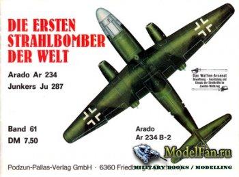 Waffen Arsenal - Band 61 - Die Ersten Strahlbomber Der Welt (Arado Ar-234,  ...