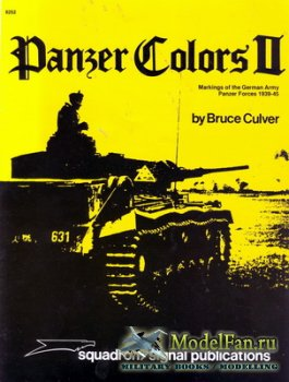 Squadron Signal (Panzer Colors) 6252 - Markings of the German Army Panzer F ...