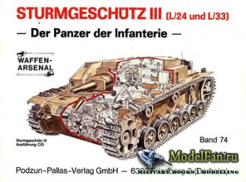 Waffen Arsenal - Band 74 - Sturmgeschutz III (L/24 und L/33)