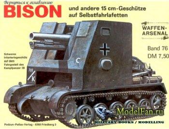 Waffen Arsenal - Band 76 - Bison und andere 15 cm