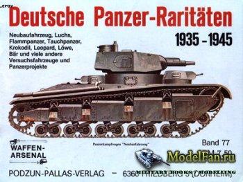 Waffen Arsenal - Band 77 - Deutsche Panzer-Raritaten 1935-1945