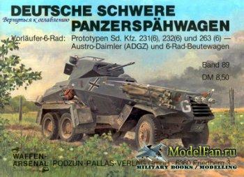 Waffen Arsenal - Band 89 - Deutsche Schwere Panzerspaehwagen