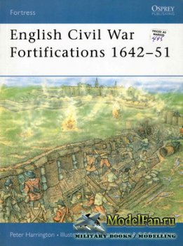 Osprey - Fortress 9 - English Civil War Fortifications 1642-51