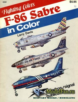 Squadron Signal (Fighting Colors) 6502 - F-86 Sabre in Color