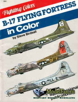 Squadron Signal (Fighting Colors) 6561 - B-17 Flying Fortress in Color