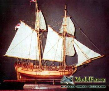 Чертежи кораблей (H.M.S. Halifax Schooner, Halcon - Schooner, Igarite, Lean ...