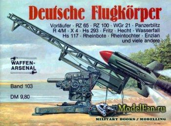 Waffen Arsenal - Band 103 - Deutsche Flugkorper