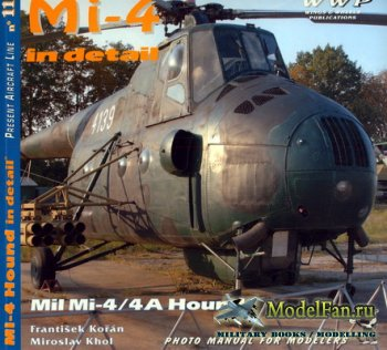 Wings & Wheels - Present Aircraft Line №11 - Mi-4 Hound in detail