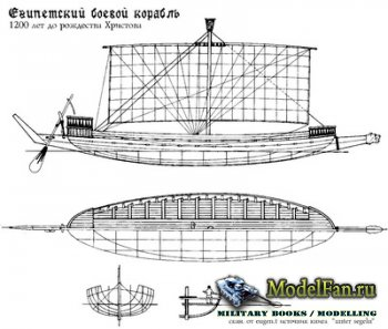 Чертежи кораблей (La Renommee, Le Brillant, Moto-Cutter, Tavola, Agyptische ...