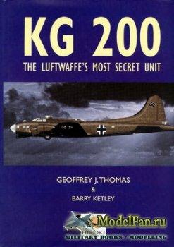KG200: The Luftwaffe's Most Secret Unit (Geoffrey J. Thomas & Barry Ketley ...