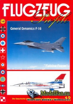 Flugzeug Profile Nr.12 - General Dynamics F-16