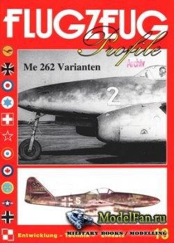 Flugzeug Profile Nr.13 - Messerschmitt Me 262 Varianten