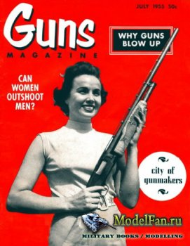 Guns Magazine (July 1955)