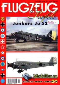 Flugzeug Profile Nr.24 - Junkers Ju 52