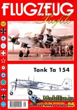 Flugzeug Profile Nr.25 - Tank Ta 154