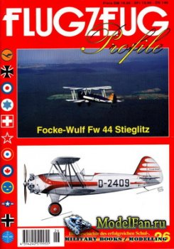 Flugzeug Profile Nr.26 - Focke-Wulf FW 44 Stieglitz