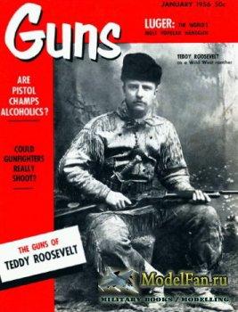 Guns Magazine (January 1956)