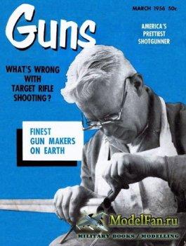 Guns Magazine (March 1956)