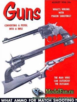 Guns Magazine (August 1956)