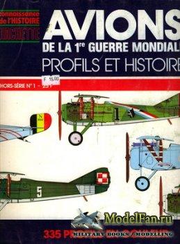 Hachette Сonnaissance de'l histoire - Hors-Serie №1 - Avions de la 1re Gue ...