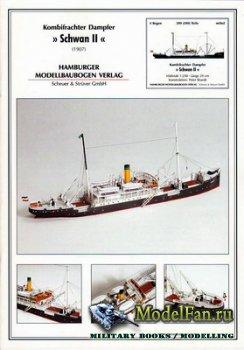 Hamburger Modellbaubogen Verlag (HMV) - Schwan II (1907)