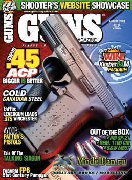 Guns Magazine (August 2003) Vol.49, Number 08-584