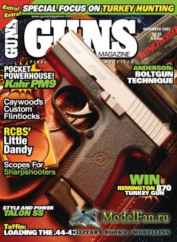 Guns Magazine (November 2003) Vol.49, Number 11-587
