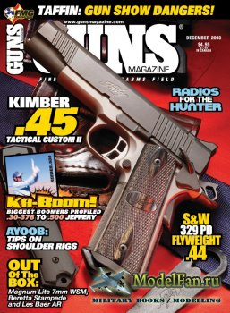 Guns Magazine (December 2003) Vol.49, Number 12-588