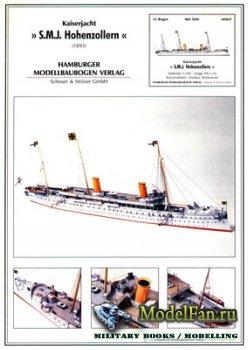 Hamburger Modellbaubogen Verlag (HMV) - Kaiserjacht SMJ Hohenzollen (1893)