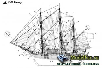 Чертежи кораблей (HMS Ajax, HMS Bounty, HMS Naiad, La Renommee, USS Constit ...