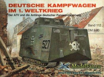 Waffen Arsenal - Band 112 - Deutsche Kampfwagen im ersten Weltkrieg