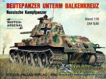 Waffen Arsenal - Band 116 - Beutepanzer Unterm Balkenkreuz Russische Kampfp ...