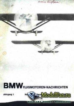 BMW Flugmotoren - Nachrichten. Jahrgang 1. Heft 2. November - Dezember 1929