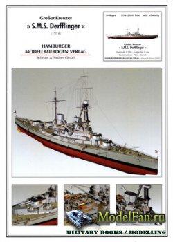 Hamburger Modellbaubogen Verlag (HMV) - SMS Derfflinger (1914)
