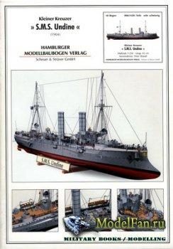 Hamburger Modellbaubogen Verlag (HMV) - SMS Undine (1904)