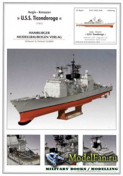Hamburger Modellbaubogen Verlag (HMV) - U.S.S. Ticonderoga (1983)
