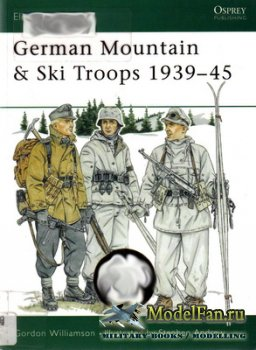 Osprey - Elite 63 - German Mountain & Ski Troops 1939-45