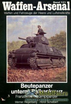 Waffen Arsenal - Band 121 - Beutepanzer unterm Balkenkreuz. Franzosische Ka ...