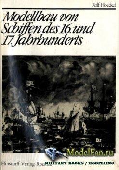 Hinstorff Verlag Rostock - Modellbau von Schiffen des 16. und 17. Jahrhunde ...