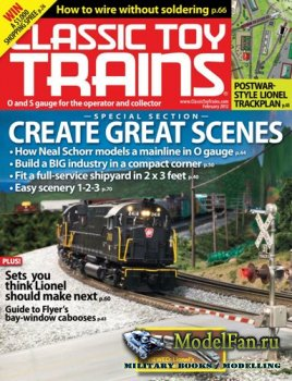 Classic Toy Trains (February 2012) Vol.25 No.2